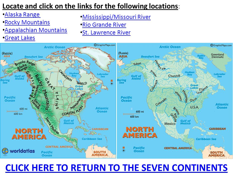 Major Geographic Features Of The Seven Continents Ppt Video - Seven continents of the world