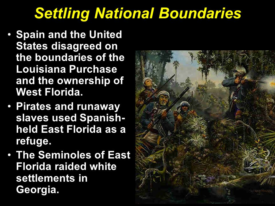 Settling National Boundaries