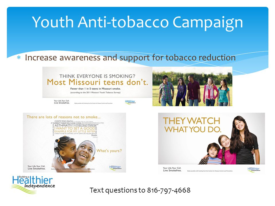 Youth Anti-tobacco Campaign