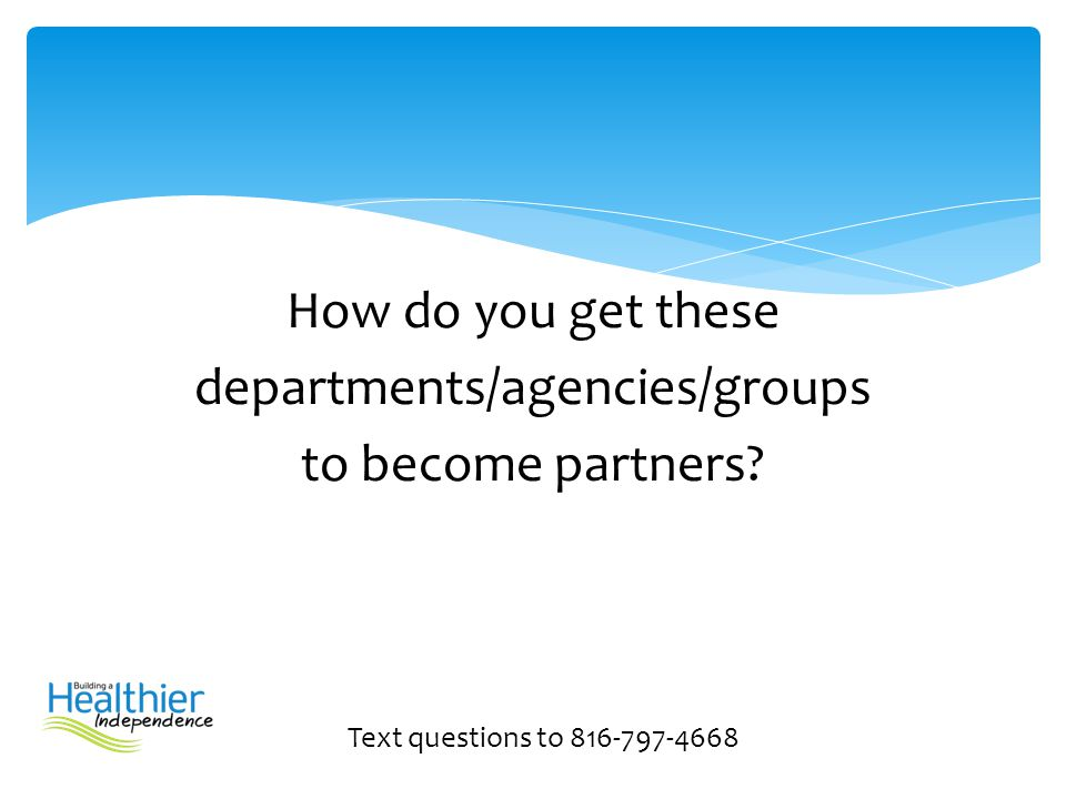 departments/agencies/groups