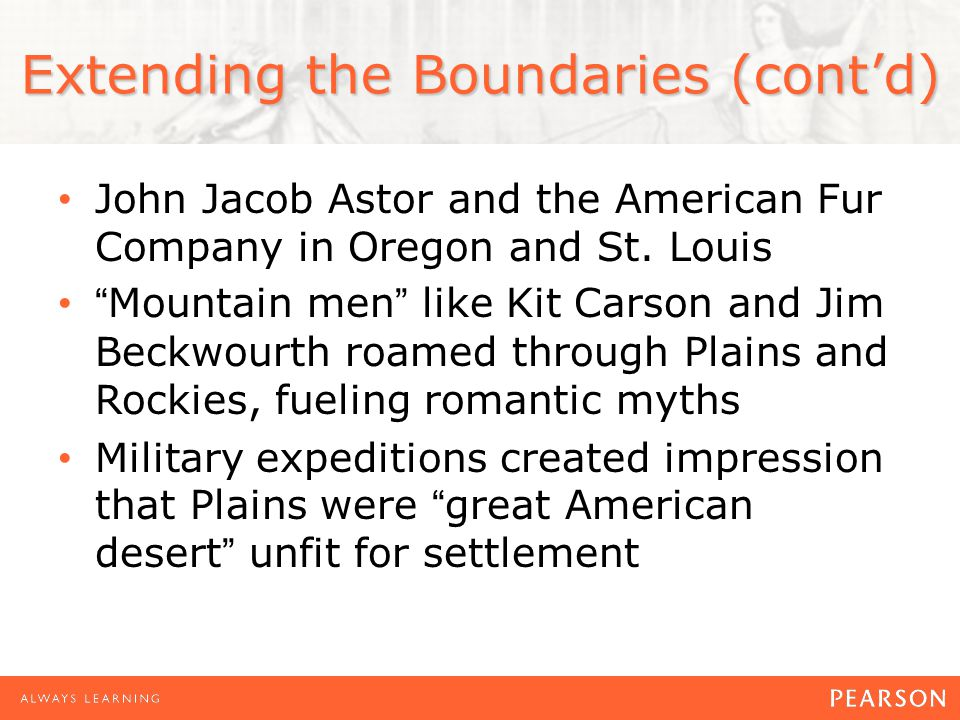 Extending the Boundaries (cont'd)