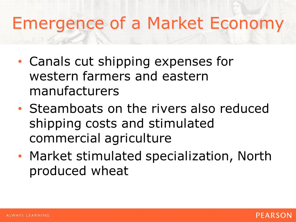 Emergence of a Market Economy