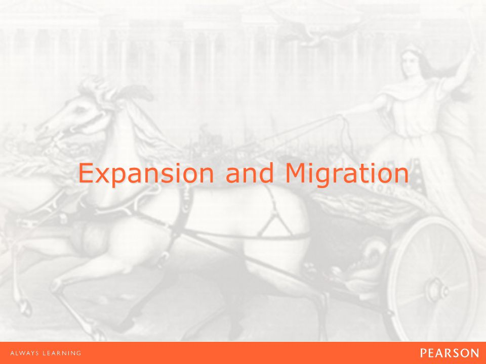 Expansion and Migration