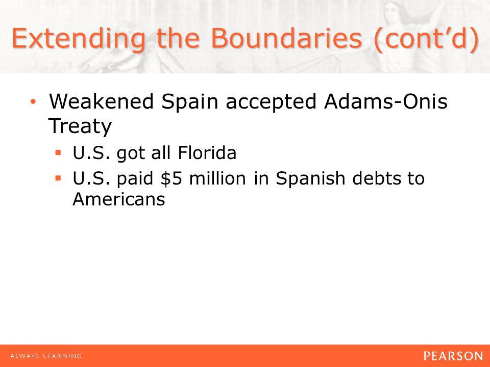 Extending the Boundaries (cont'd)
