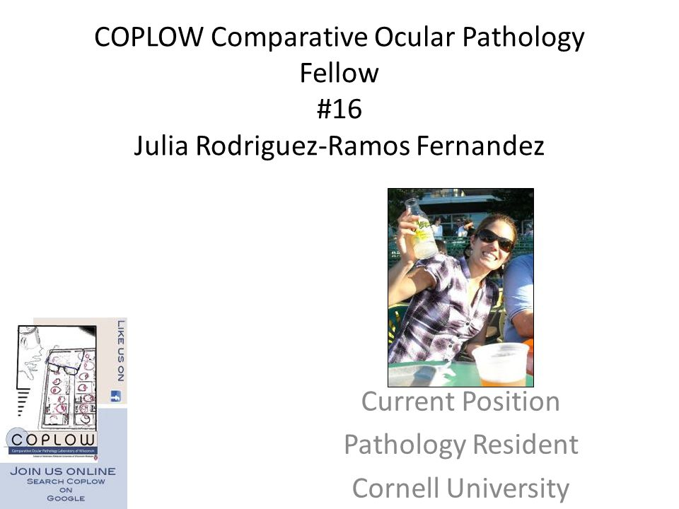 Current Position Pathology Resident Cornell University