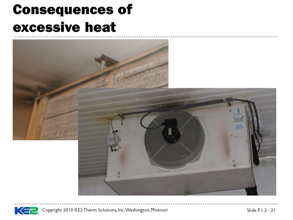 Consequences of excessive heat