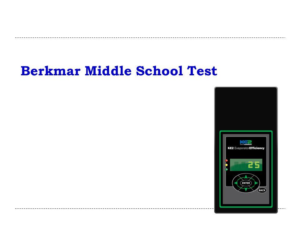 Berkmar Middle School Test