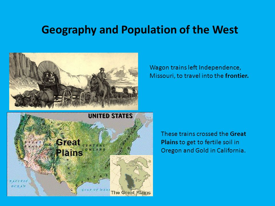 Geography and Population of the West
