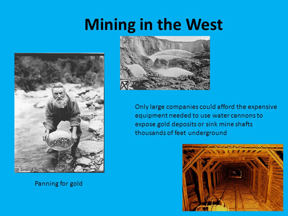 Mining in the West