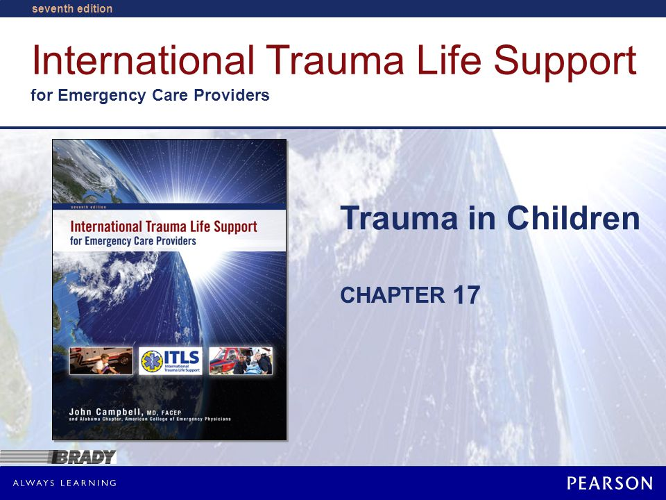 Trauma in Children © Pearson