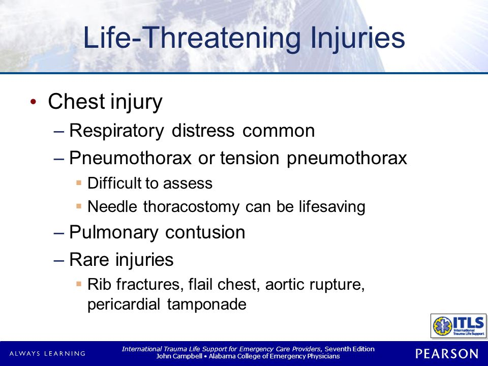 Life-Threatening Injuries