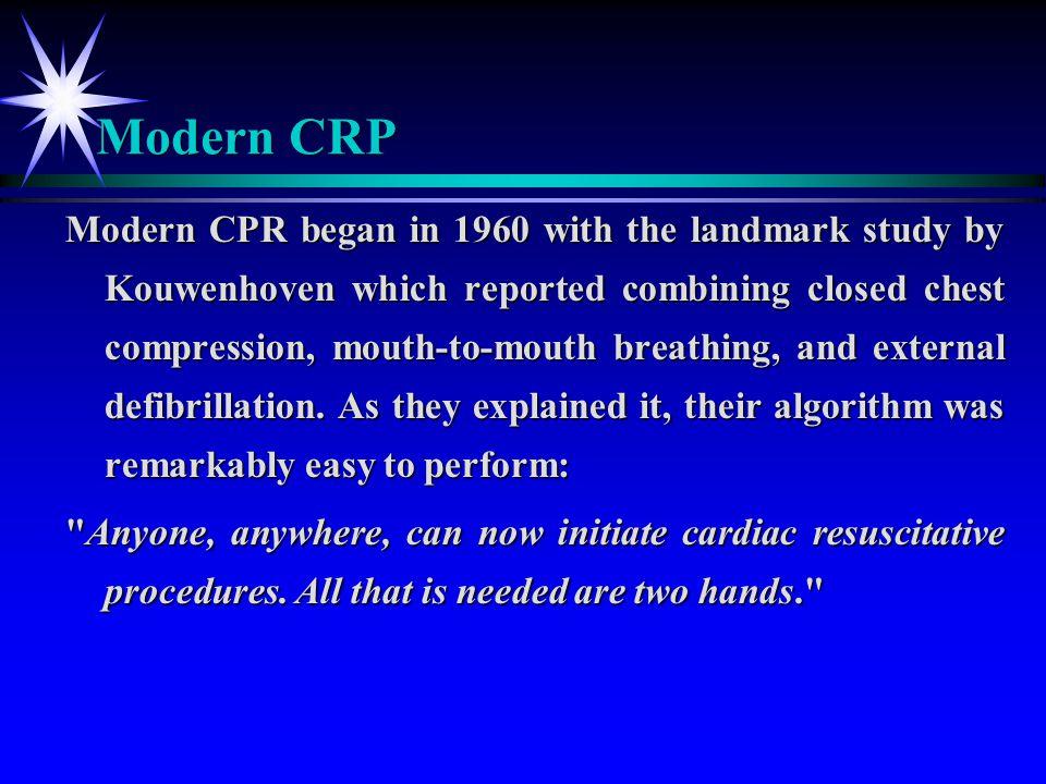 Modern CRP
