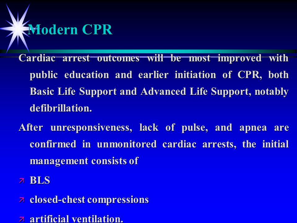 Modern CPR