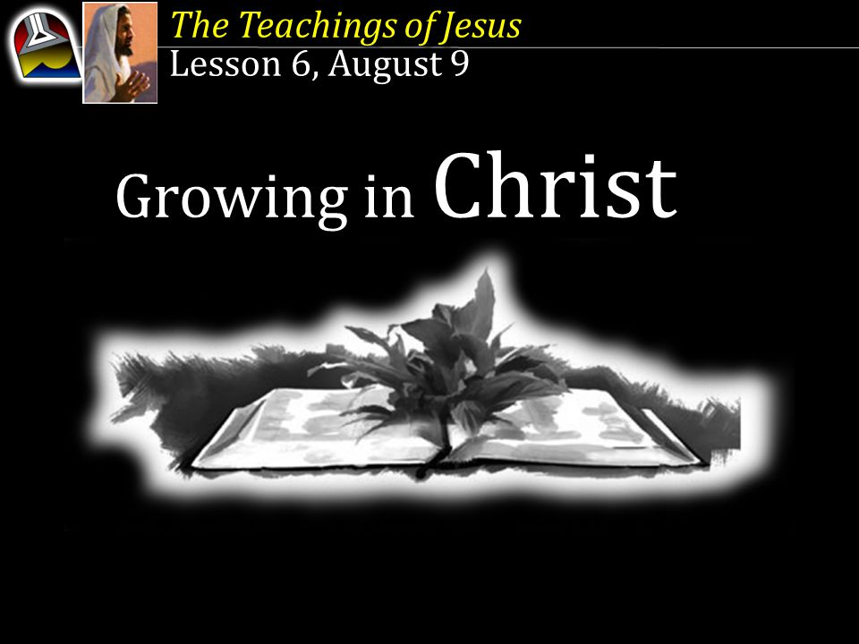 Growing in Christ The Teachings of Jesus Lesson 6, August 9