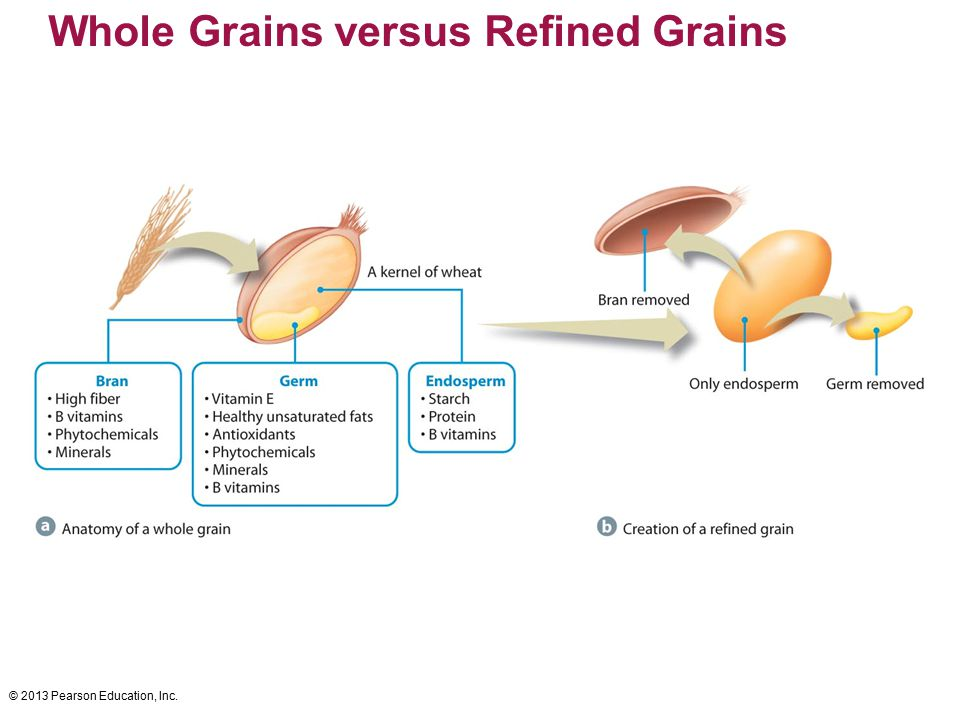 Whole Grains versus Refined Grains