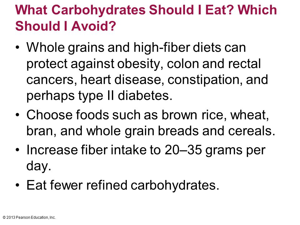 What Carbohydrates Should I Eat Which Should I Avoid