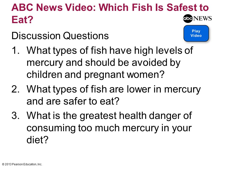 ABC News Video: Which Fish Is Safest to Eat