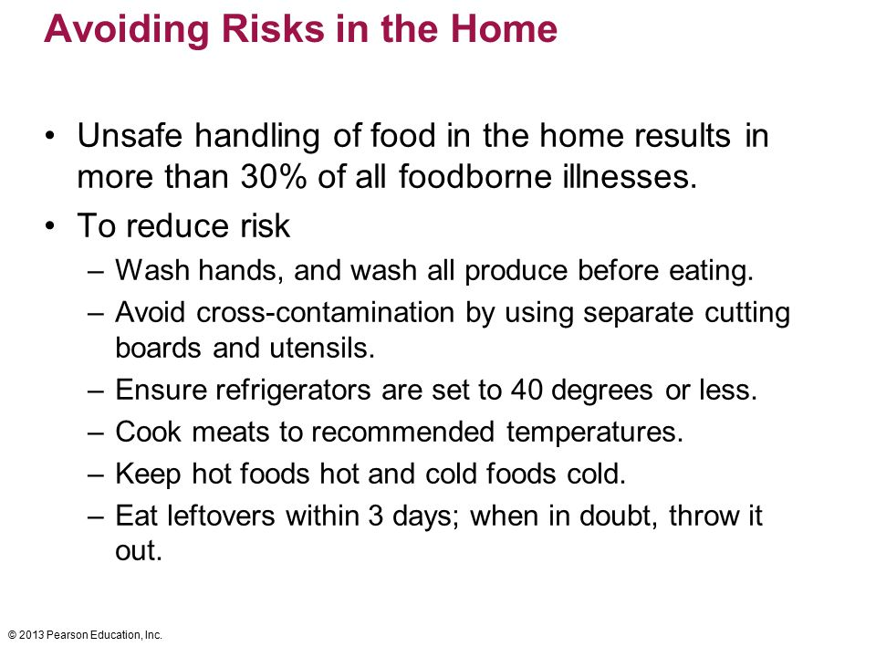 Avoiding Risks in the Home