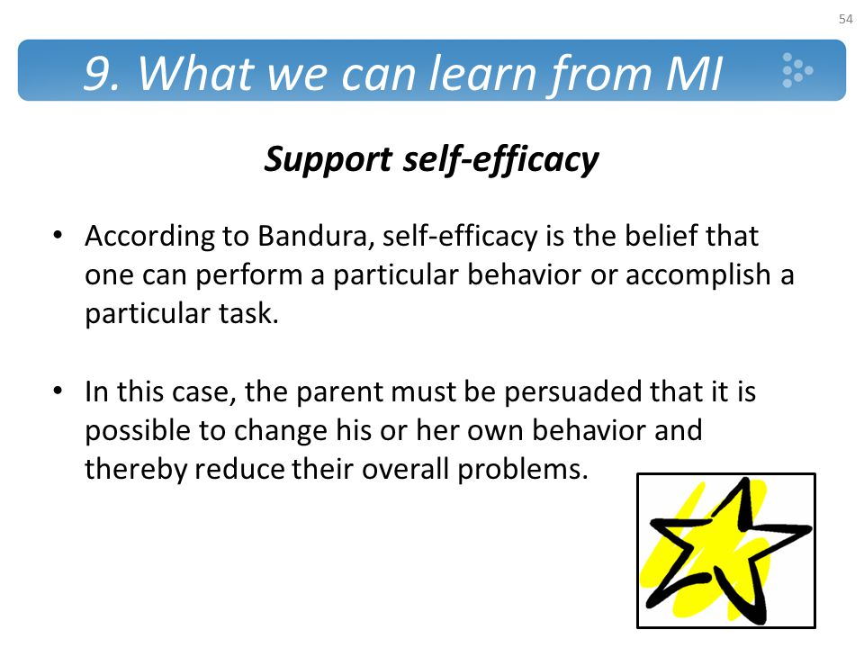 9. What we can learn from MI