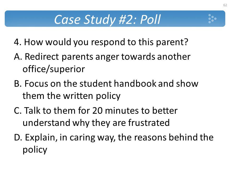 Case Study #2: Poll