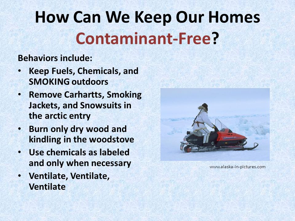 How Can We Keep Our Homes Contaminant-Free