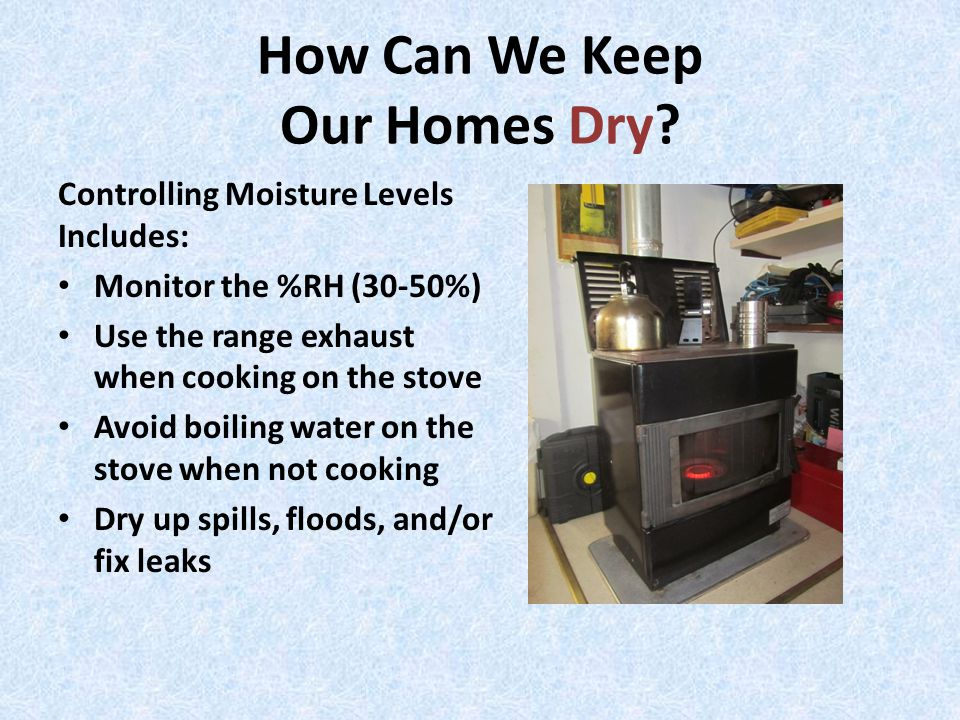 How Can We Keep Our Homes Dry