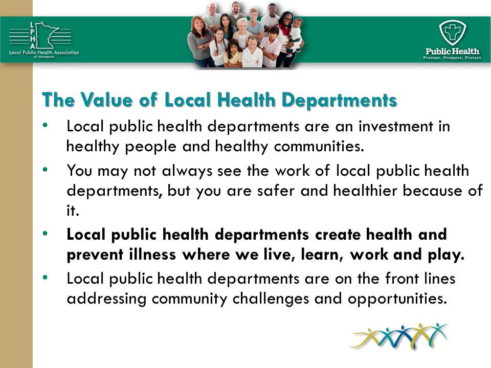 The Value of Local Health Departments