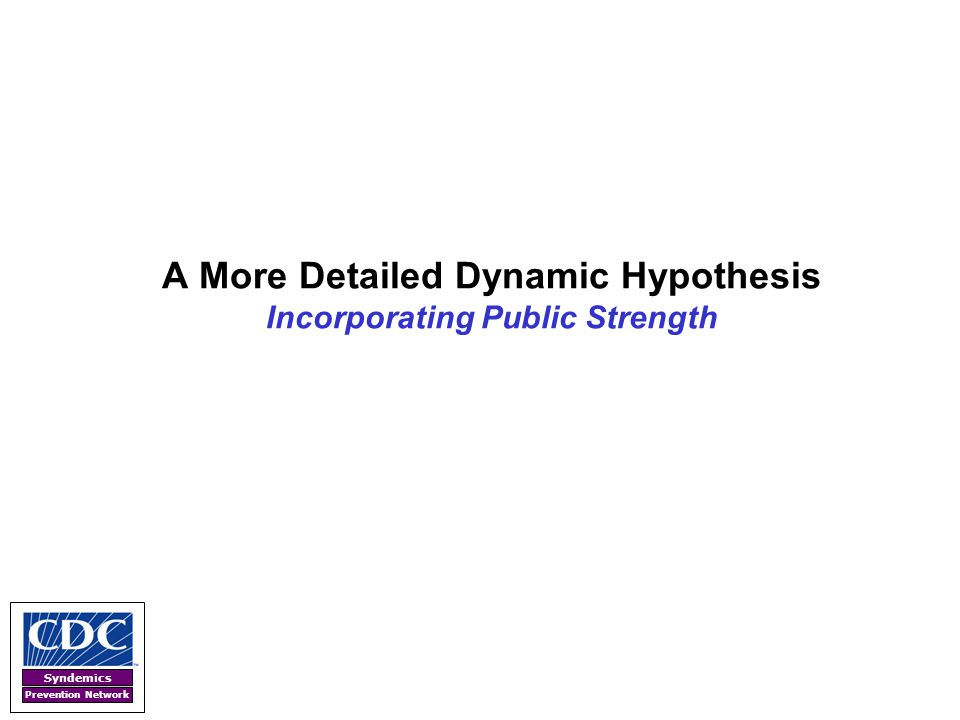 A More Detailed Dynamic Hypothesis Incorporating Public Strength