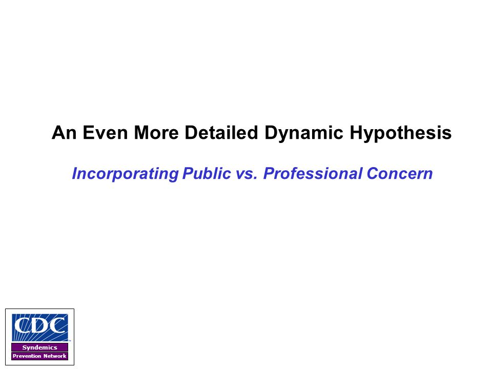An Even More Detailed Dynamic Hypothesis Incorporating Public vs
