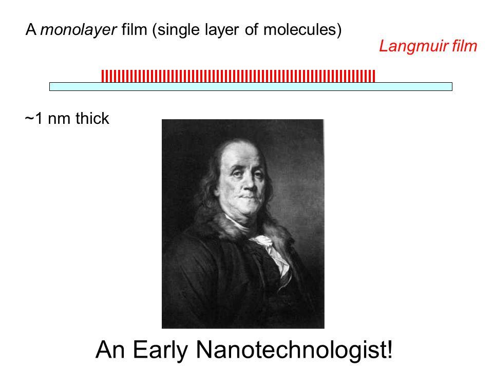 An Early Nanotechnologist!