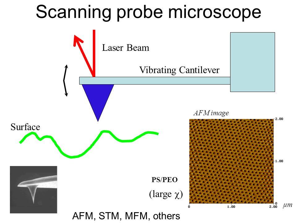 Scanning probe microscope