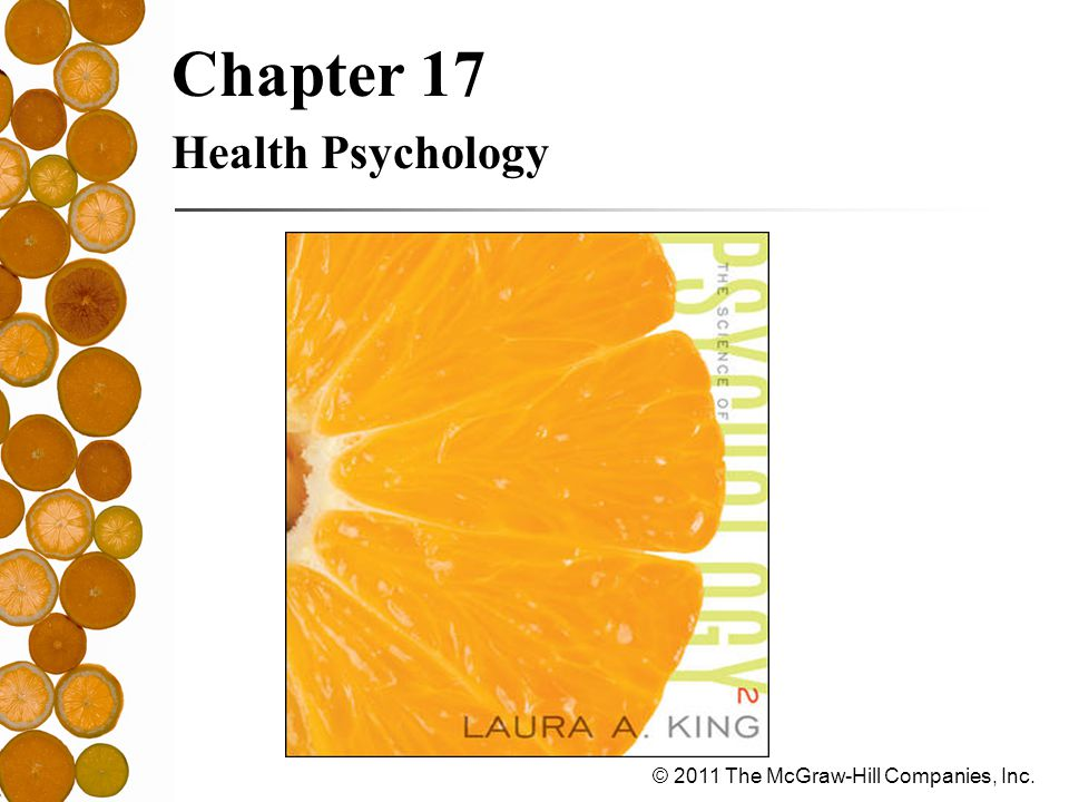 Chapter 17 Health Psychology