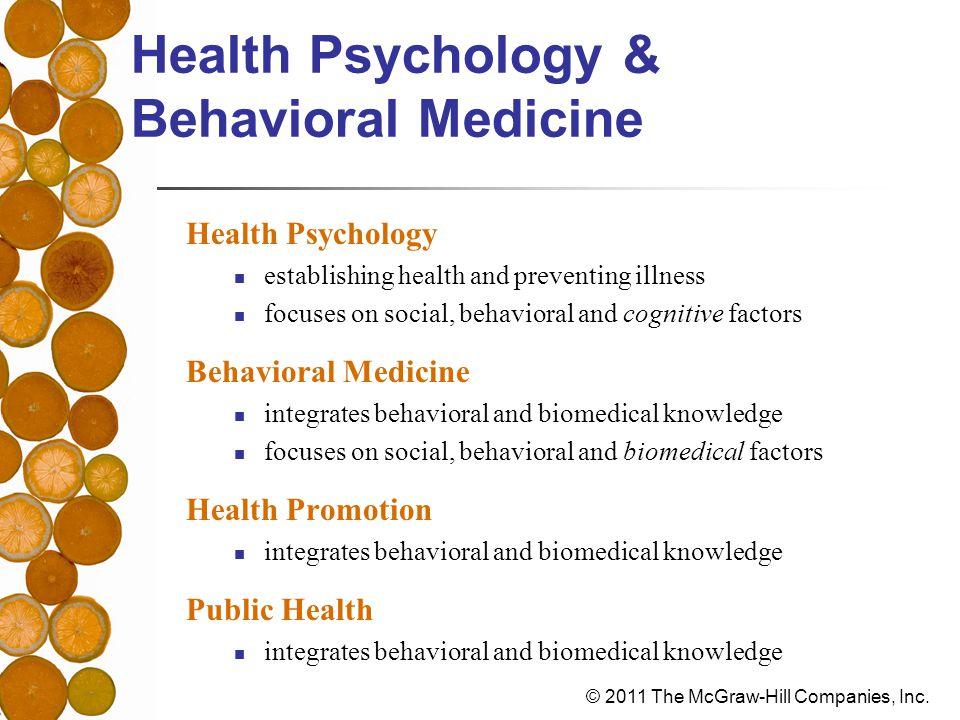 Health Psychology & Behavioral Medicine