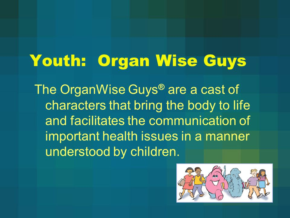 Youth: Organ Wise Guys
