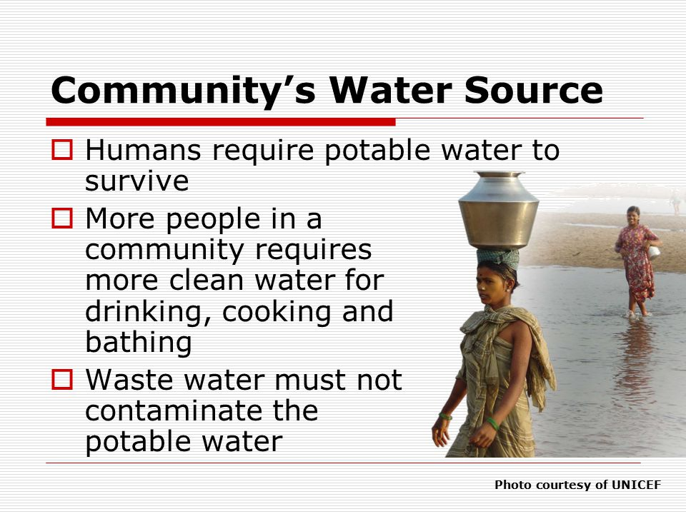 Community's Water Source