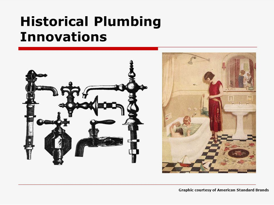 Historical Plumbing Innovations
