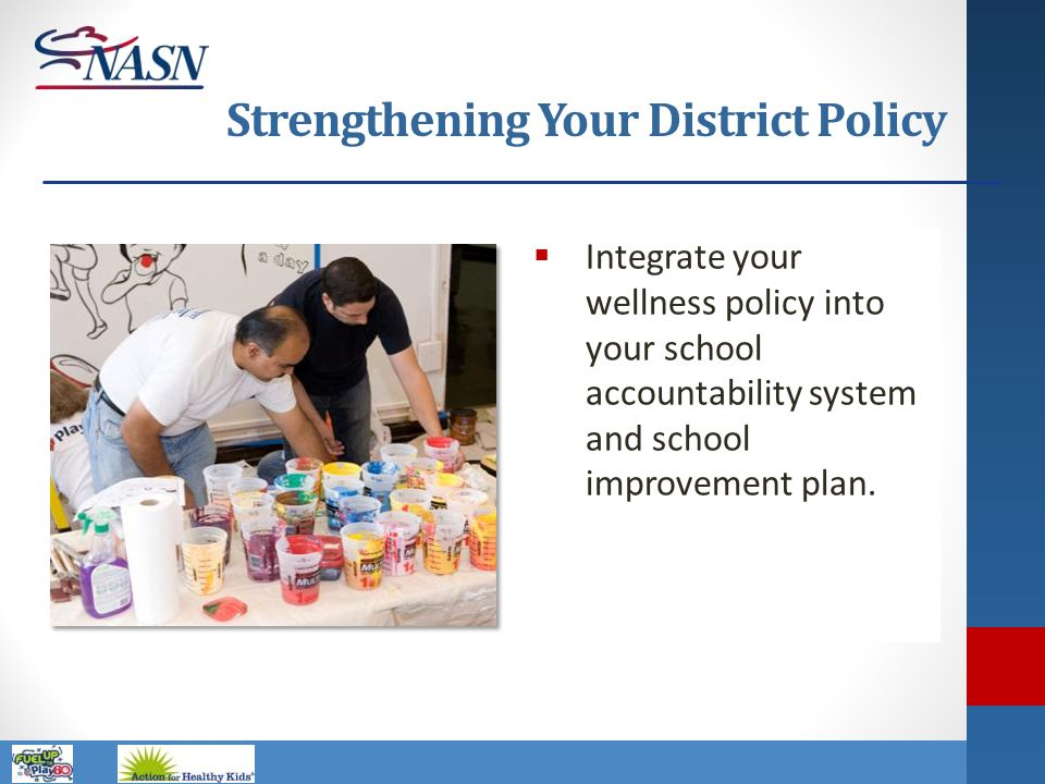 Strengthening Your District Policy