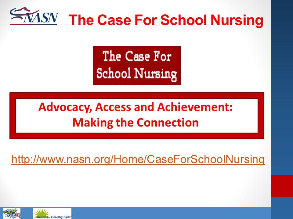 The Case For School Nursing