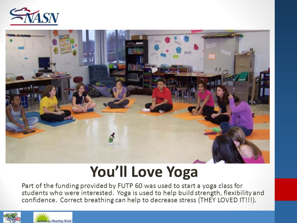 One of our Activity plays in 2011 was You'll like Yoga