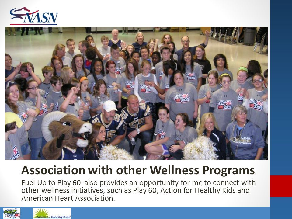 Association with other Wellness Programs