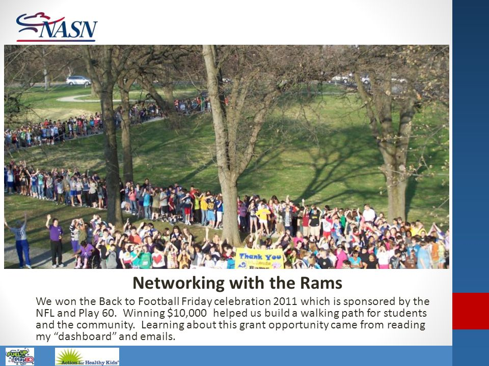 Networking with the Rams