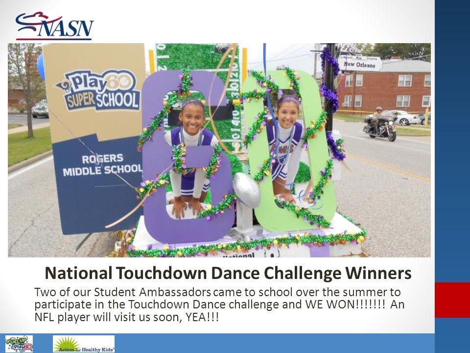 National Touchdown Dance Challenge Winners