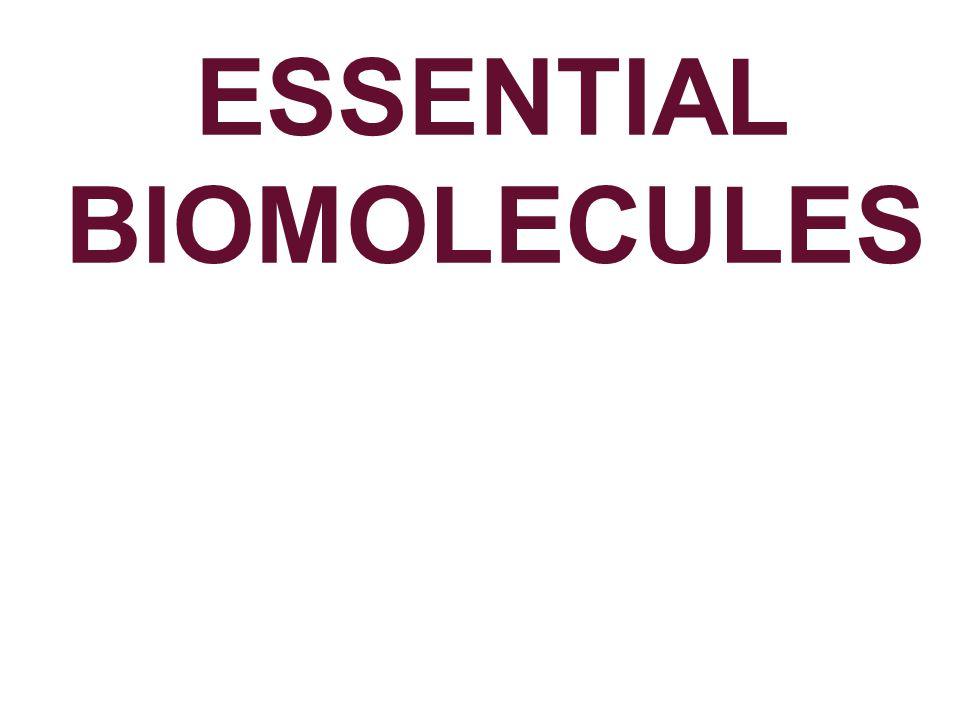 ESSENTIAL BIOMOLECULES