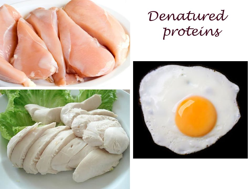 Denatured proteins