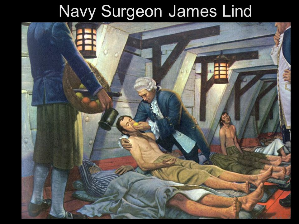 Navy Surgeon James Lind