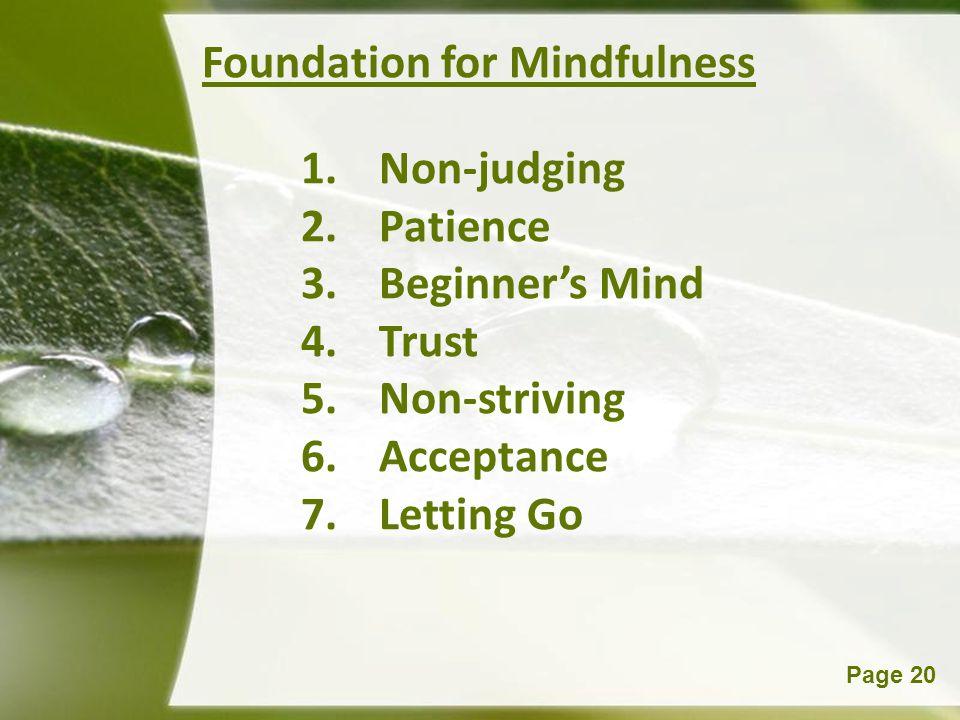 Foundation for Mindfulness