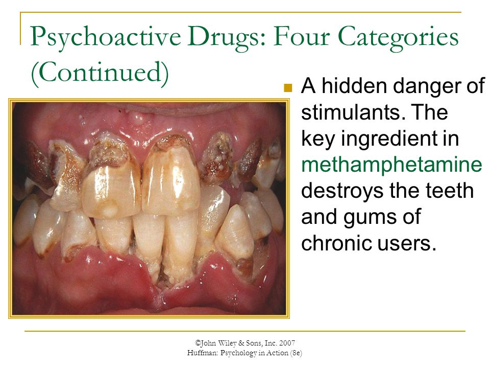 Psychoactive Drugs: Four Categories (Continued)