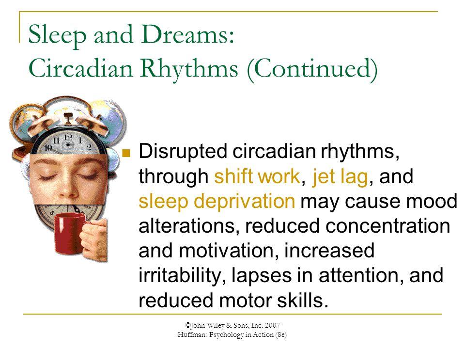 Sleep and Dreams: Circadian Rhythms (Continued)
