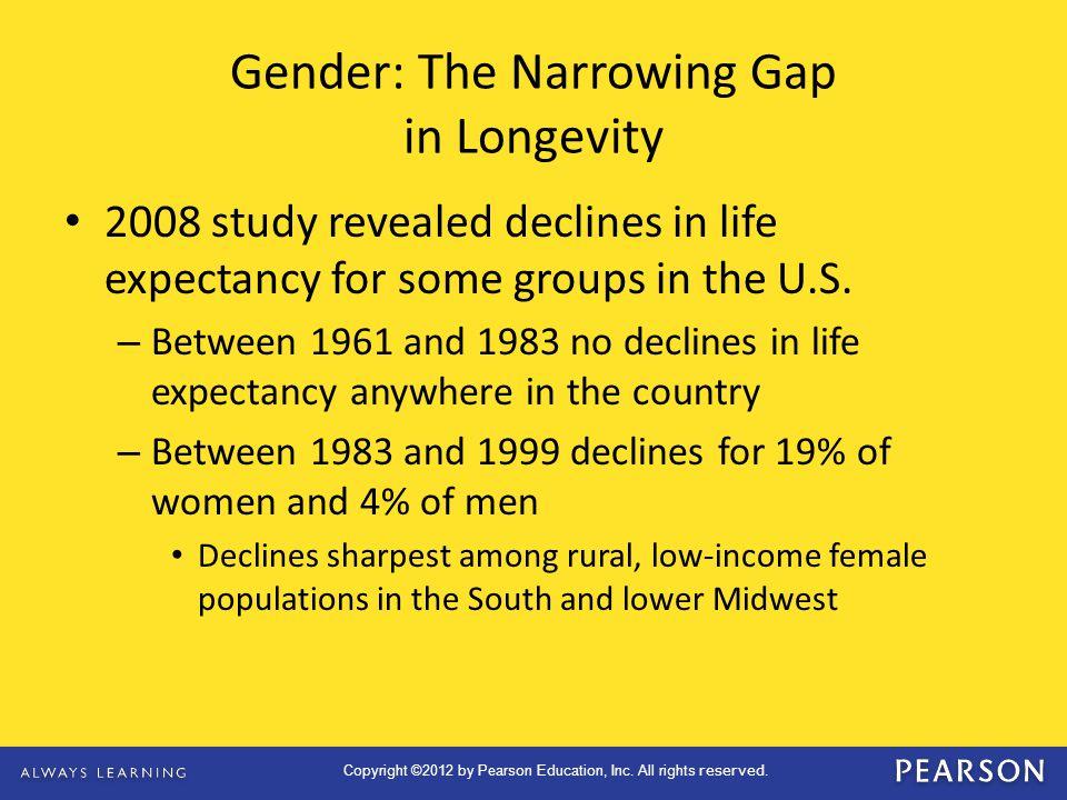 Gender: The Narrowing Gap in Longevity