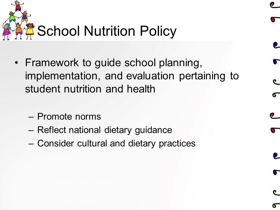 School Nutrition Policy